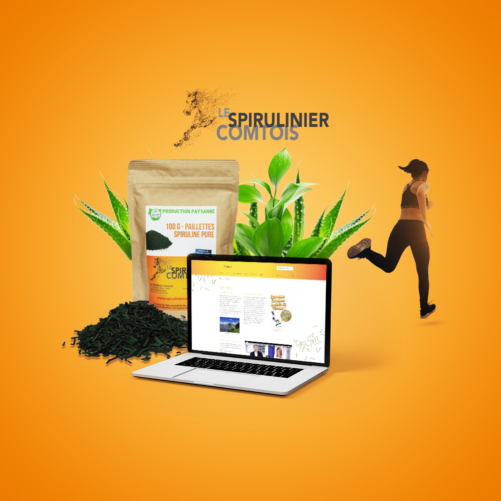 Le Spirulinier Comtois - Vente en ligne de Spiruline Paysanne