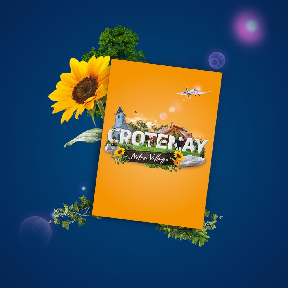 Création Journal communal de Crotenay